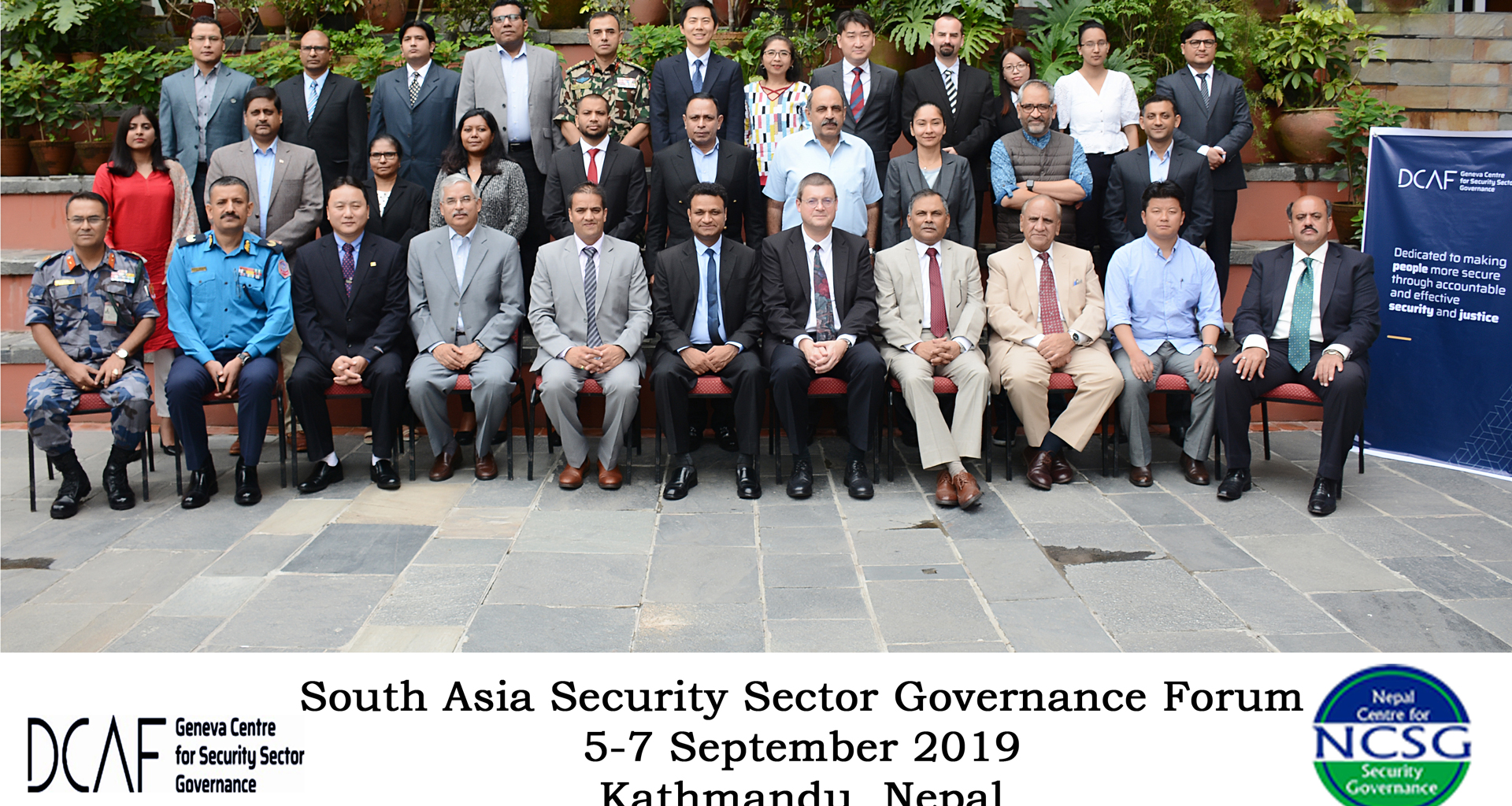 South Asia Security Sector Governance Forum 2019
